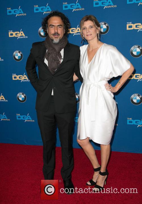 Alejandro González Iñárritu and María Eladia Hagerman 9