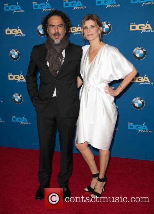 Alejandro González Iñárritu and María Eladia Hagerman 10