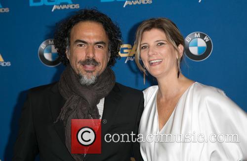 Alejandro González Iñárritu and María Eladia Hagerman 1