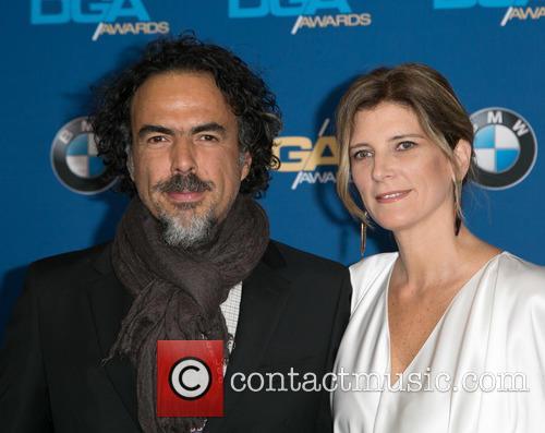 Alejandro González Iñárritu and María Eladia Hagerman 11