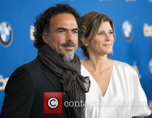 Alejandro González Iñárritu and María Eladia Hagerman 2