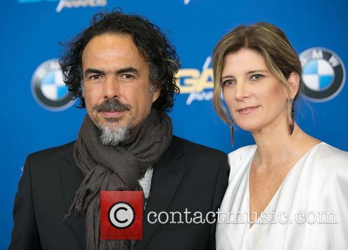 Alejandro González Iñárritu and María Eladia Hagerman 4