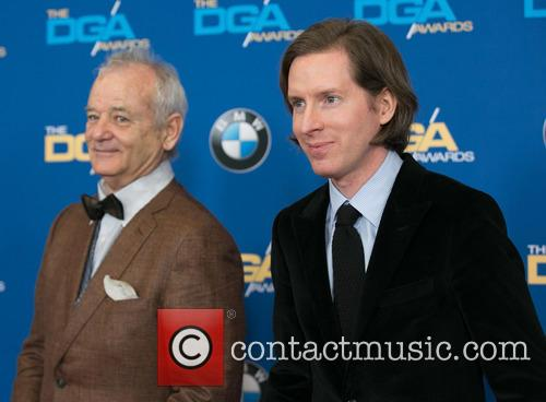 Bill Murray and Wes Anderson 10