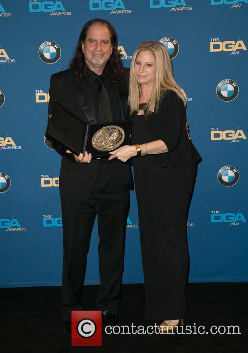 Glenn Weiss and Barbra Streisand 3