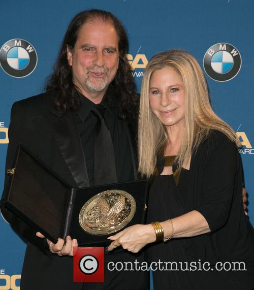 Glenn Weiss and Barbra Streisand 6