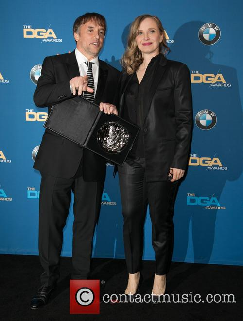 Richard Linklater and Julie Delpy 1