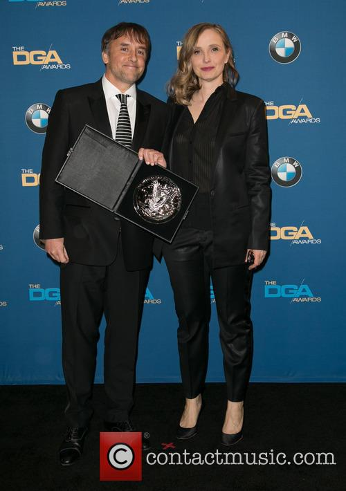 Richard Linklater and Julie Delpy 2
