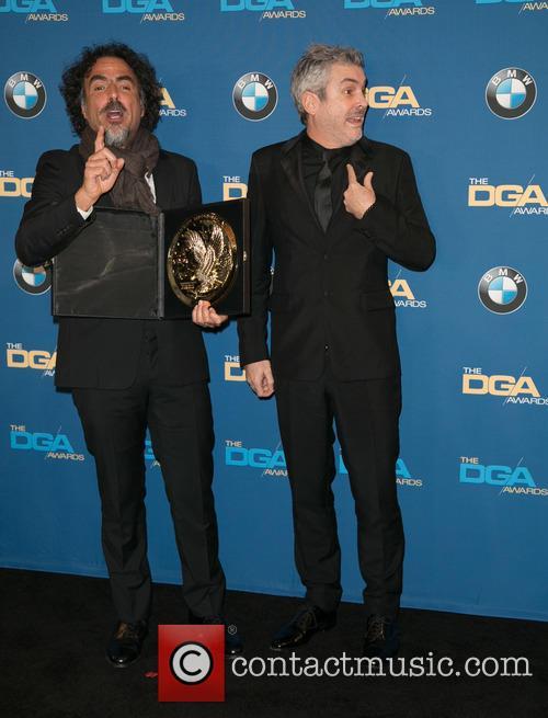 Alejandro González Iñárritu and Alfonso Cuaron 11