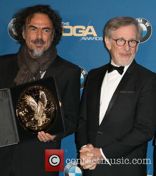 Alejandro González Iñárritu and Steven Spielberg 10
