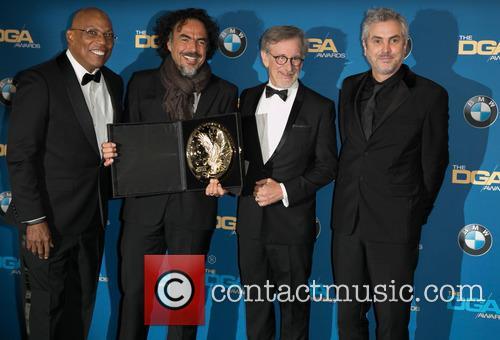 Paris Barclay, Alejandro González Iñárritu, Steven Spielberg and Alfonso Cuaron 7