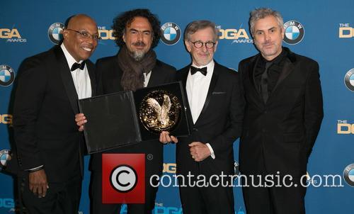 Paris Barclay, Alejandro González Iñárritu, Steven Spielberg and Alfonso Cuaron 10