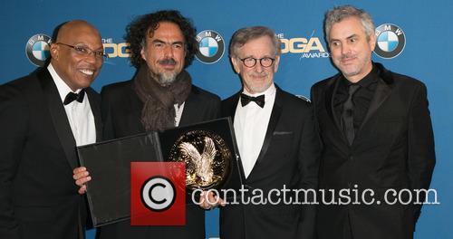 Paris Barclay, Alejandro González Iñárritu, Steven Spielberg and Alfonso Cuaron 1