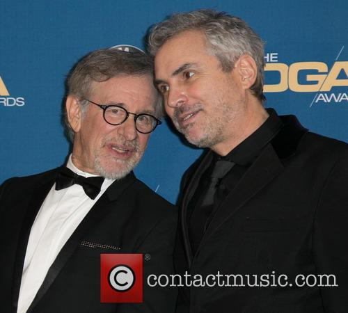Steven Spielberg and Alfonso Cuaron 3