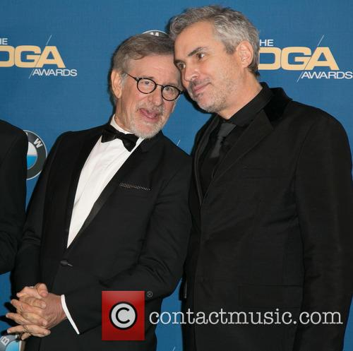 Steven Spielberg and Alfonso Cuaron 1