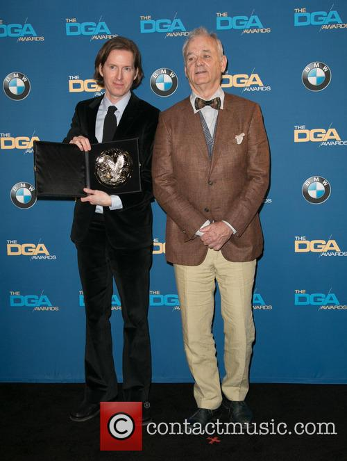Wes Anderson and Bill Murray 3