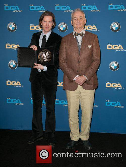 Wes Anderson and Bill Murray 4