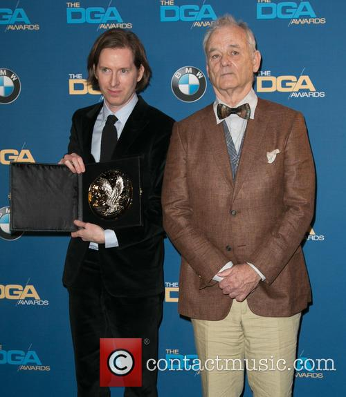 Wes Anderson and Bill Murray 5