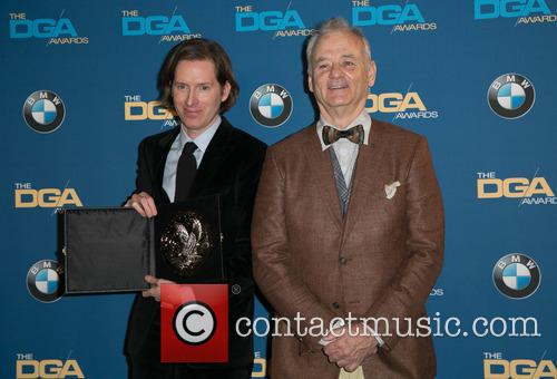 Wes Anderson and Bill Murray 8