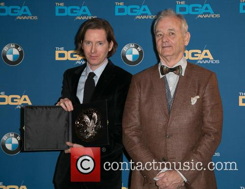 Wes Anderson and Bill Murray 9