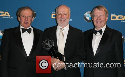 Glen Charles, James Burrows and Les Charles