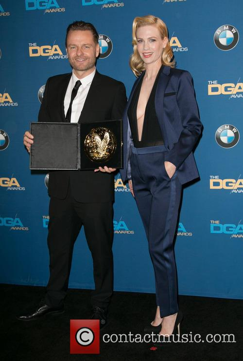 Nicolai Fuglsig and January Jones 2