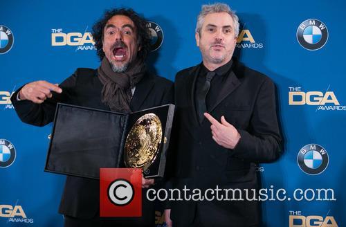 Alejandro González Iñárritu and Alfonso Cuaron 7