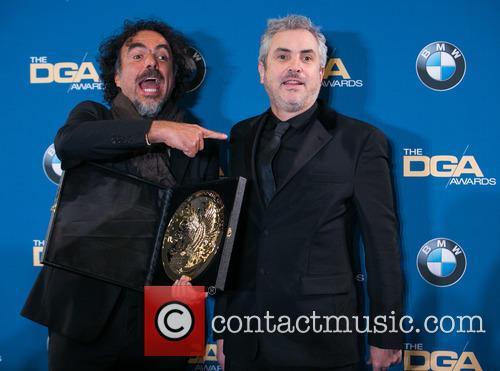 Alejandro González Iñárritu and Alfonso Cuaron 8