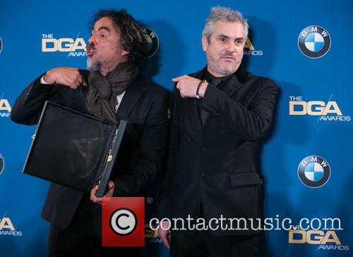 Alejandro González Iñárritu and Alfonso Cuaron 9