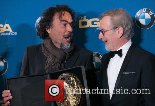 Alejandro González Iñárritu and Steven Spielberg 3