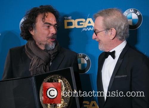 Alejandro González Iñárritu and Steven Spielberg 4