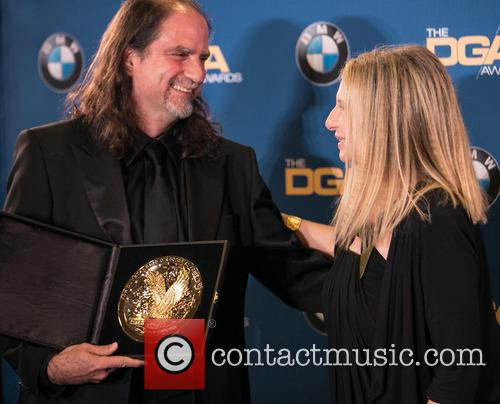 Glenn Weiss and Barbra Streisand 1