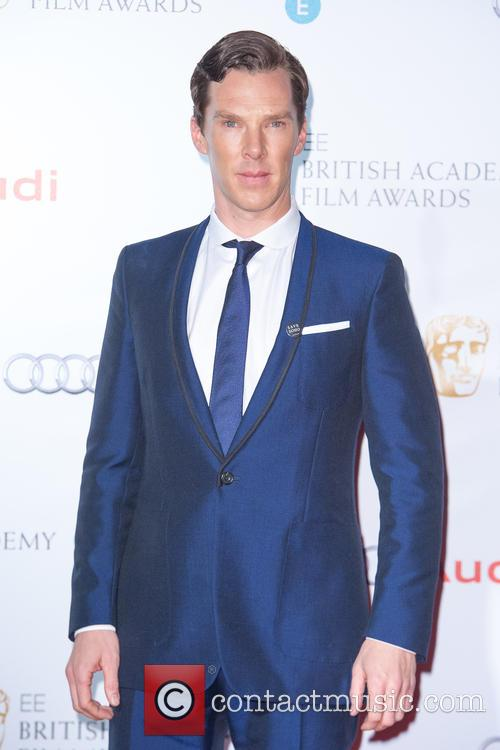 Benedict Cumberbatch at the Bafta Nominations Awards
