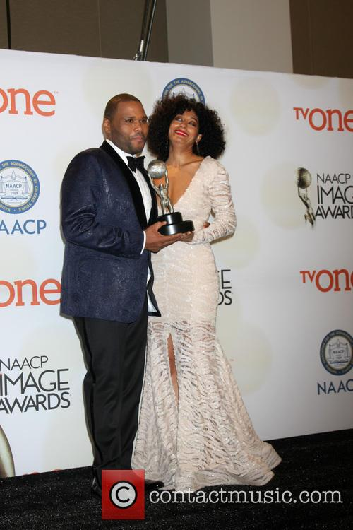 Anthony Anderson and Tracee Ellis Ross 1
