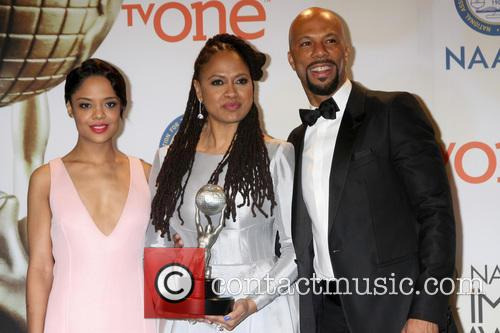 Tessa Thompson, Ava Duvernay and Common 6