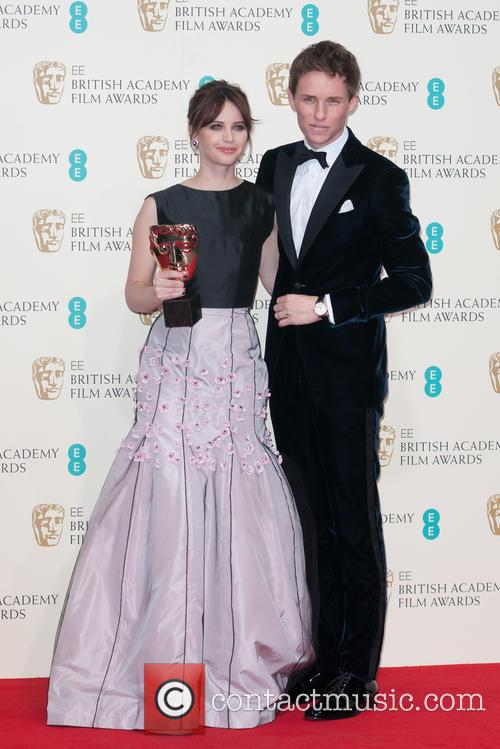 Felicity Jones and Eddie Redmayne 2