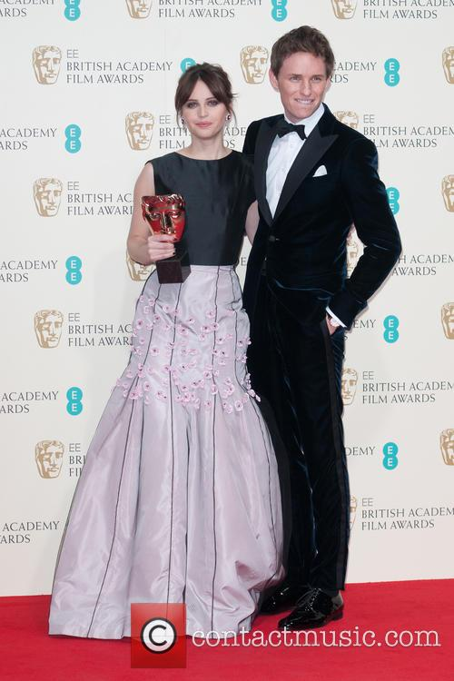 Felicity Jones and Eddie Redmayne 1