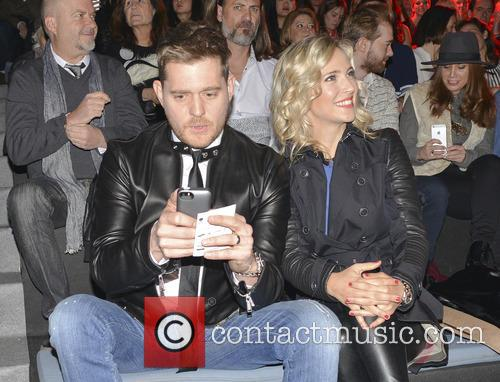 Michael Buble and Luisana Lopilato 7