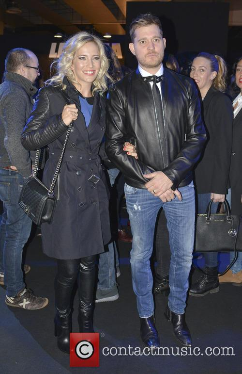 Michael Buble and Luisana Lopilato 11