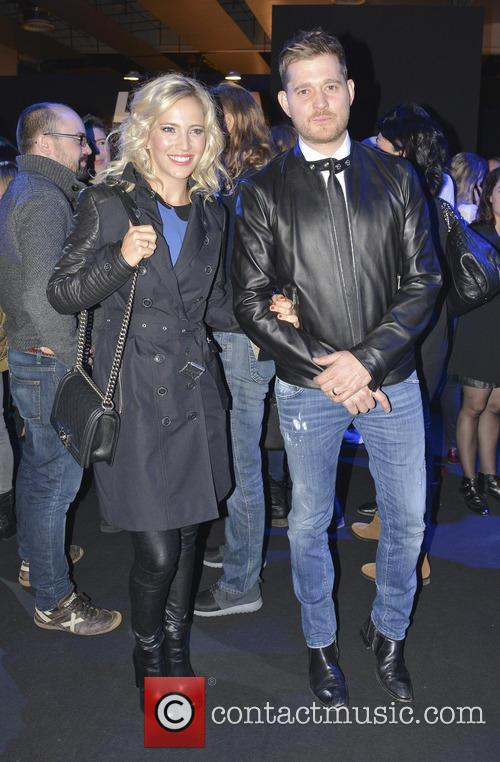Michael Buble and Luisana Lopilato 1