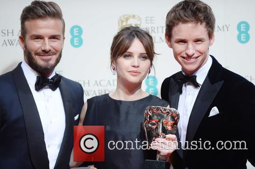 Felicity Jones, Eddie Redmayne and David Beckham 4