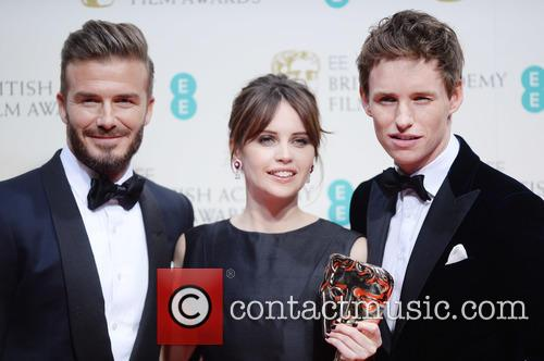 Felicity Jones, Eddie Redmayne and David Beckham 5