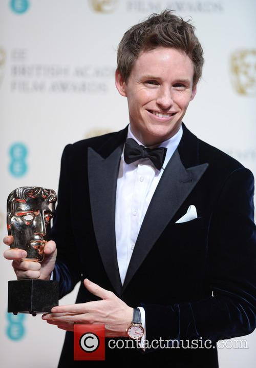 Eddie Redmayne at 2015 BAFTAs