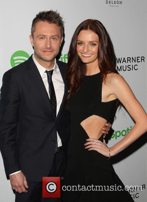 Chris Hardwick and Lydia Hearst 4