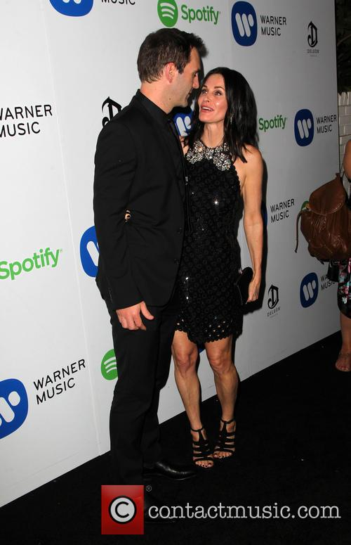 Courteney Cox and John Mcd 2