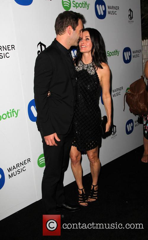 Courteney Cox and John Mcd 3