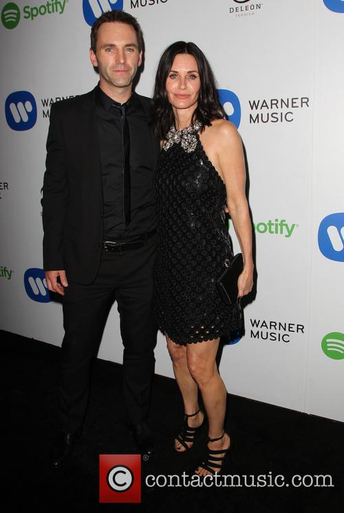 Courteney Cox and John Mcd 5