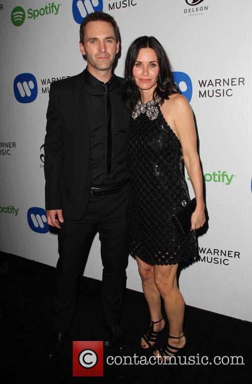 Courteney Cox and John Mcd 6