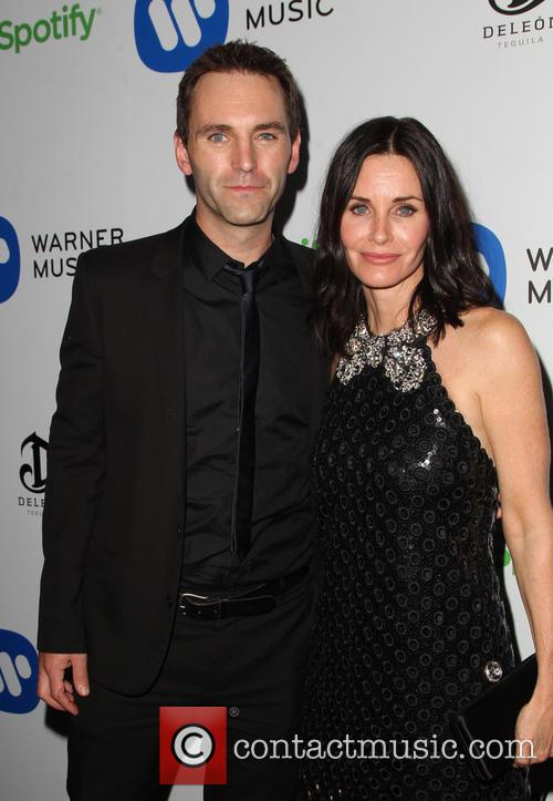Courteney Cox and John Mcd 7