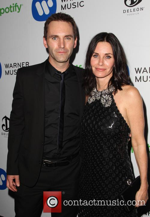Courteney Cox and John Mcd 1