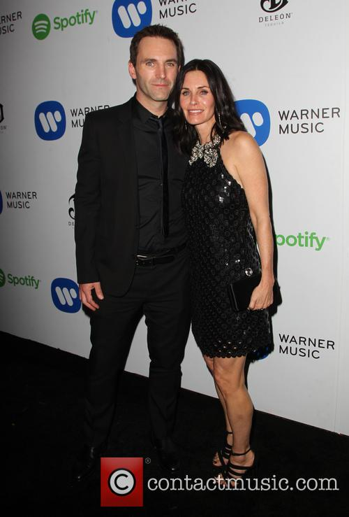 Courteney Cox and John Mcd 8